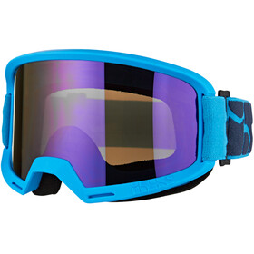 IXS Hack Mirror Goggles blau